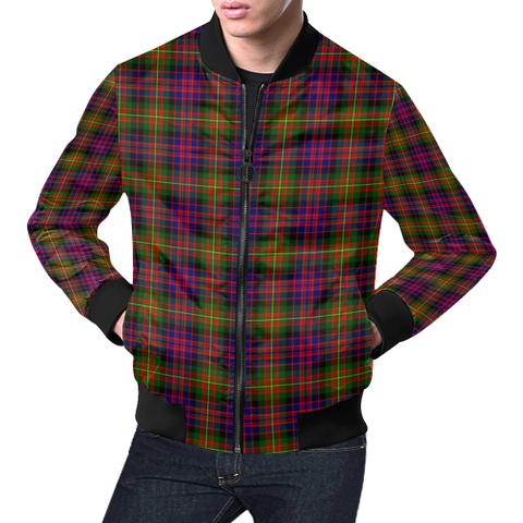 Carnegie Modern Tartan Bomber Jacket | Scottish Jacket | Scotland Clothing