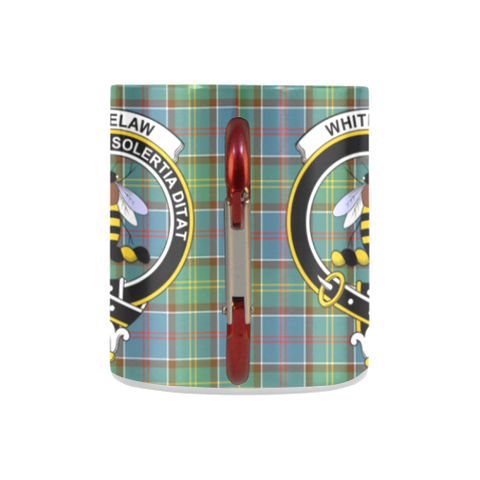 Image of Whitelaw District Tartan Mug Classic Insulated - Clan Badge K7