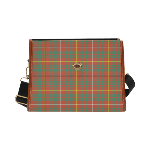 Image of Bruce Ancient Tartan Canvas Bag | Special Custom Design