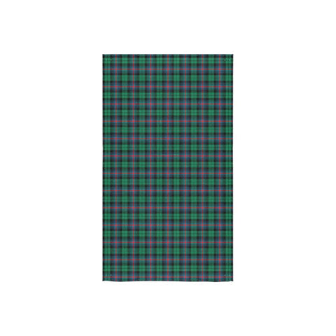 Urquhart Broad Red Ancient Tartan Towel | scottishclans.co