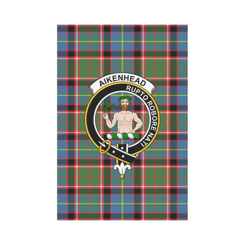 Aikenhead Tartan Flag Clan Badge | Scottishclans.co