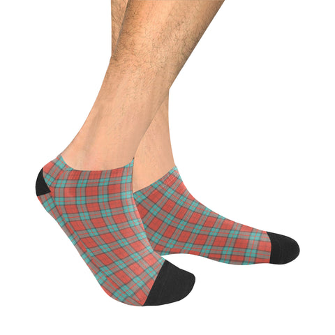 Image of Dunbar Ancient Tartan Ankle Socks | scottishclans.co
