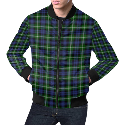 Baillie Modern Tartan Bomber Jacket | Scottish Jacket | Scotland Clothing