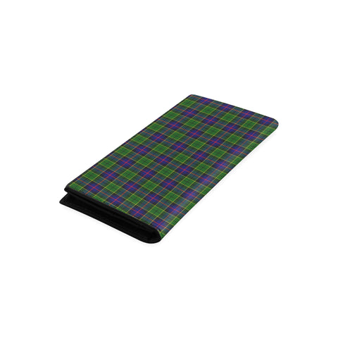 Forsyth Modern Tartan Wallet Women's Leather Thistle A91