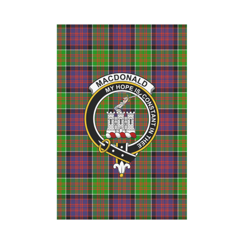 Macdonald Of Clan Ranald Tartan Flag Clan Badge | Scottishclans.co