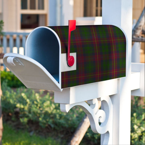 Image of ScottishClan Cairns Tartan Crest Scotland Mailbox A91