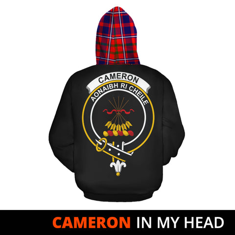 Cameron of Lochiel Modern In My Head Hoodie Tartan Scotland K9