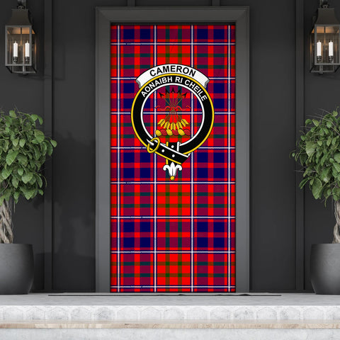 Cameron of Lochiel Modern Tartan Door Sock Cover