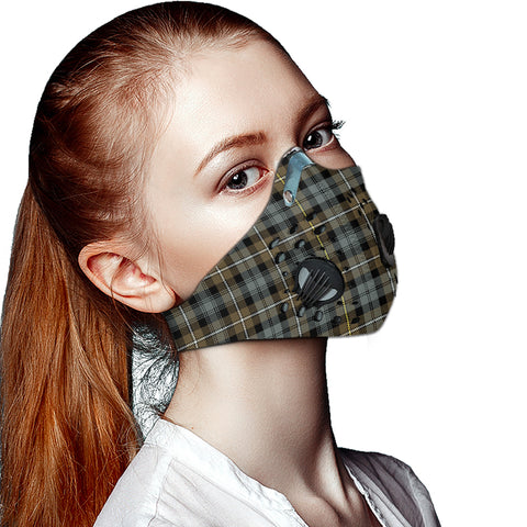 Campbell Argyll Weathered Tartan Dust-proof Sports Masks ( Model 1) - TH88 (USA Shipping Line)