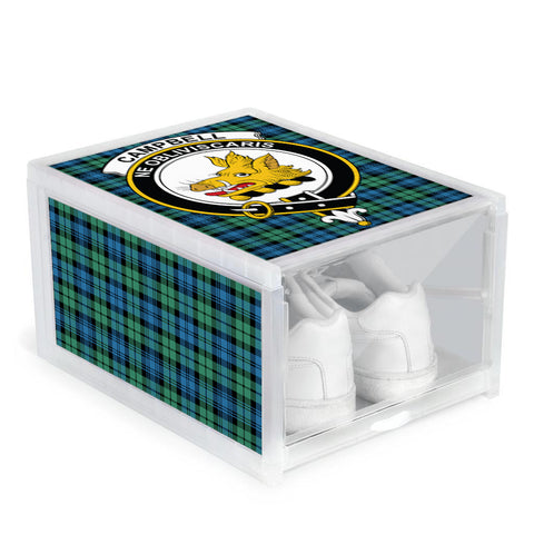 Campbell Ancient 01 Clan Crest Tartan Scottish Shoe Organizers