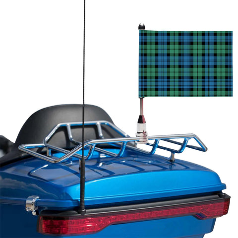Campbell Ancient 01 Clan Tartan Motorcycle Flag