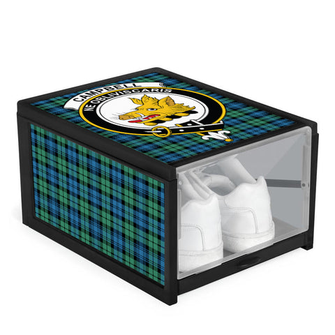 Campbell Ancient 01 Clan Crest Tartan Scottish Shoe Organizers K9