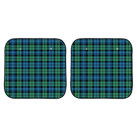 Campbell Ancient 01 Clan Tartan Scotland Car Sun Shade 2pcs K7