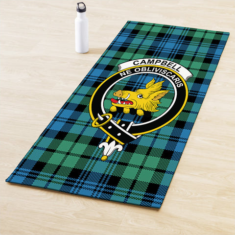 Campbell Ancient 01 Clan Crest Tartan Yoga mats