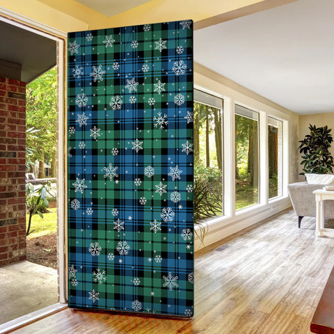 Campbell Ancient 01 Christmas Tartan Door Sock Cover