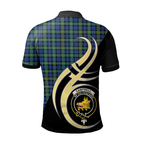 Campbell Argyll Ancient Clan Believe In Me Polo Shirt
