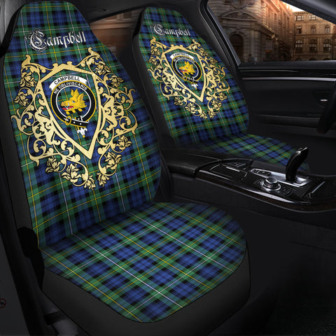 Campbell Argyll Ancient Clan Car Seat Cover Royal Sheild