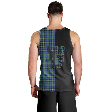 Campbell Argyll Ancient Clan Tank Top Lion Rampant