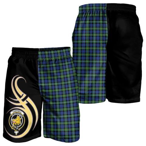 Campbell Argyll Ancient Clan Believe In Me Men Short