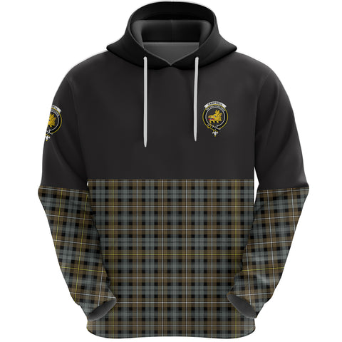 Campbell Argyll Weathered Clan Hoodie Half Of Tartan