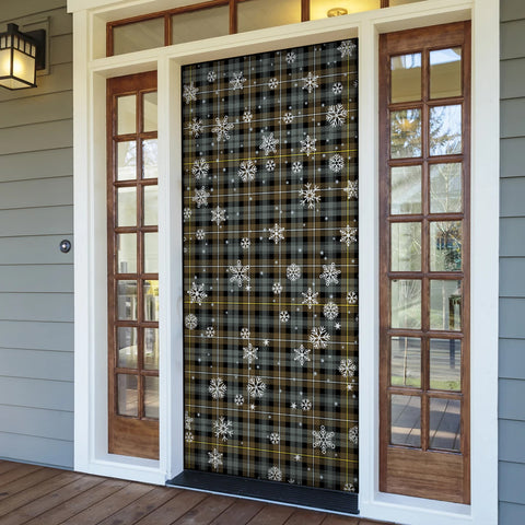 Campbell Argyll Weathered Christmas Tartan Door Sock Cover