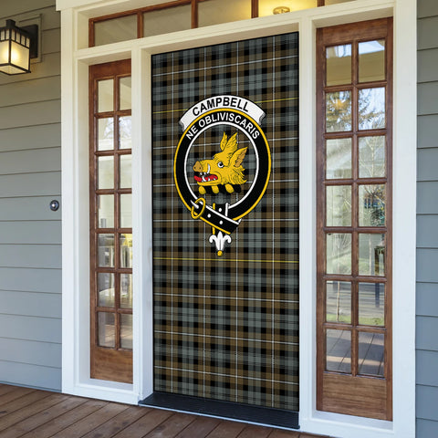 Campbell Argyll Weathered Tartan Door Sock Cover