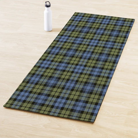 Campbell Faded Clan Tartan Yoga mats