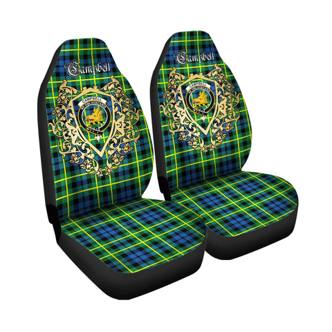 Campbell of Breadalbane Ancient Clan Car Seat Cover Royal Sheild