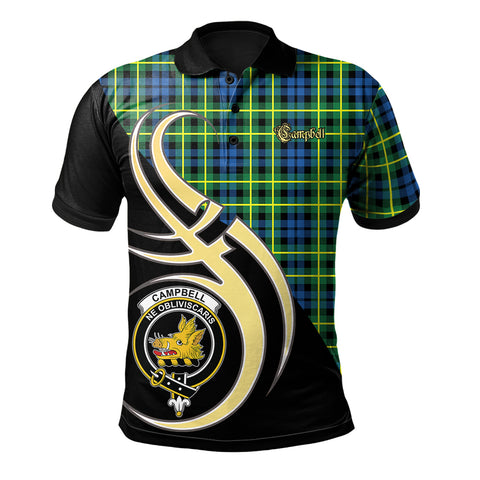 Campbell of Breadalbane Ancient Clan Believe In Me Polo Shirt