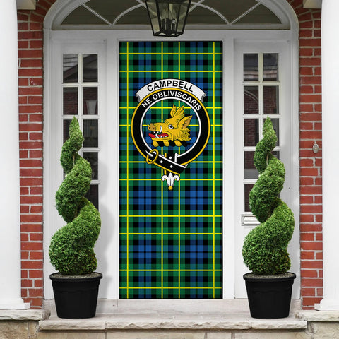 Image of Campbell of Breadalbane Ancient Tartan Door Sock Cover