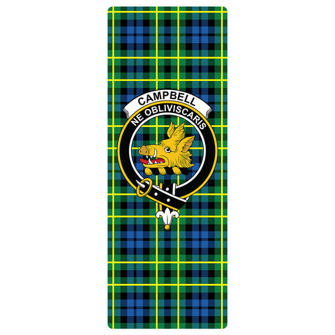Campbell of Breadalbane Ancient Clan Crest Tartan Yoga mats