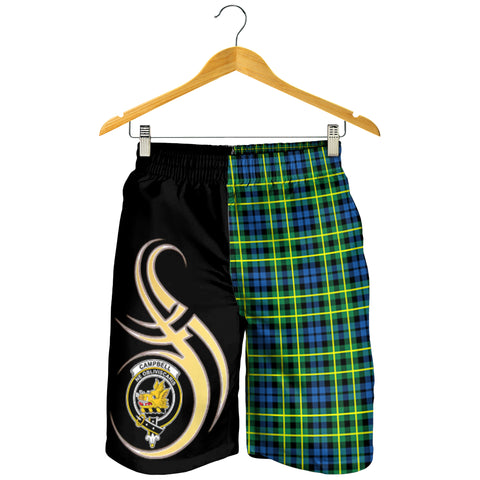 Campbell of Breadalbane Ancient Clan Believe In Me Men Short