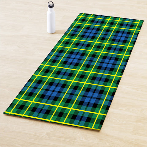 Image of Campbell of Breadalbane Ancient Clan Tartan Yoga mats