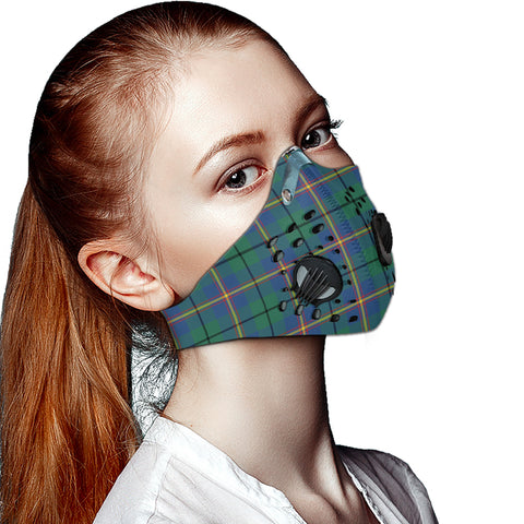 Carmichael Ancient Tartan Dust-proof Sports Masks ( Model 1) - TH88 (USA Shipping Line)
