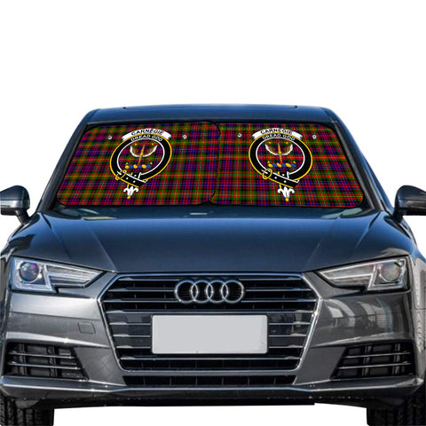Image of Carnegie Modern Clan Crest Tartan Scotland Car Sun Shade 2pcs