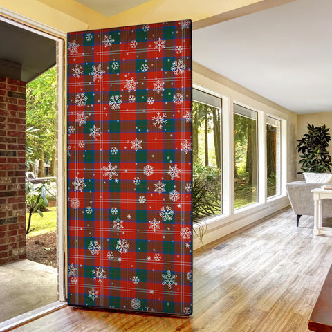 Image of Chisholm Ancient Christmas Tartan Door Sock Cover