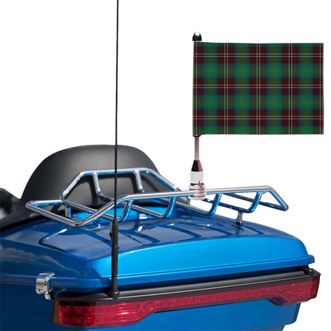 Chisholm Hunting Ancient Clan Tartan Motorcycle Flag
