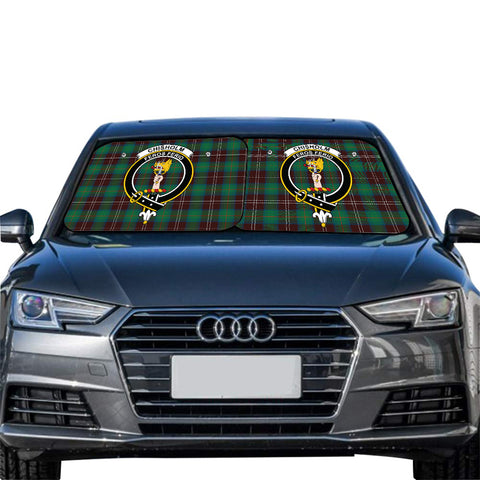 Chisholm Hunting Ancient Clan Crest Tartan Scotland Car Sun Shade 2pcs