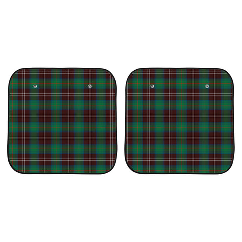 Chisholm Hunting Ancient Clan Tartan Scotland Car Sun Shade 2pcs K7