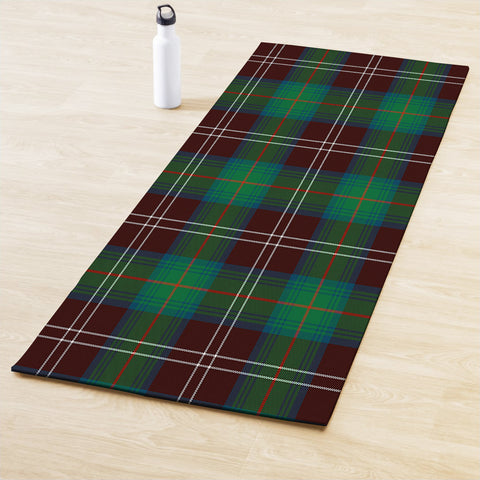Chisholm Hunting Ancient Clan Tartan Yoga mats