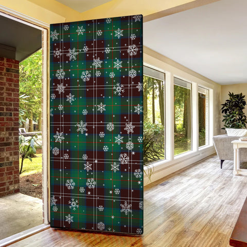 Chisholm Hunting Ancient Christmas Tartan Door Sock Cover