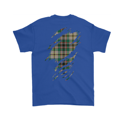 Image of Craig Ancient Lives in me Tartan T Shirt K7