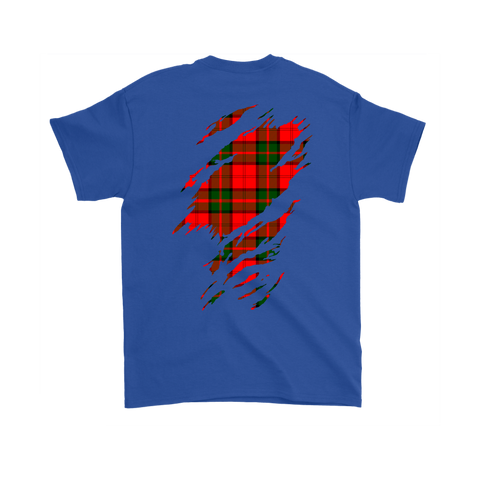 Image of Dunbar Modern Lives in me Tartan T Shirt K7