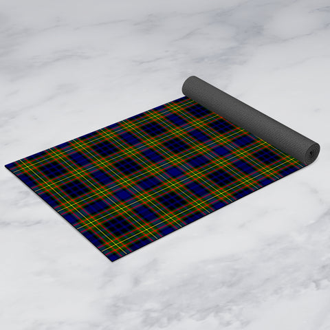 Image of Clelland Modern Clan Tartan Yoga mats