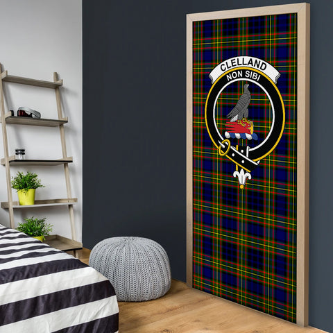 Clelland Modern Tartan Door Sock Cover