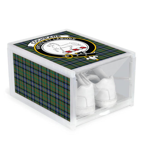 Image of Cochrane Ancient Clan Crest Tartan Scottish Shoe Organizers