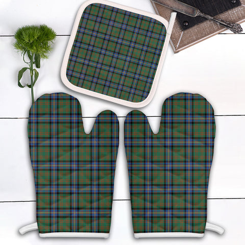 Cochrane Ancient Clan Tartan Scotland Oven Mitt And Pot-Holder (Set Of Two)