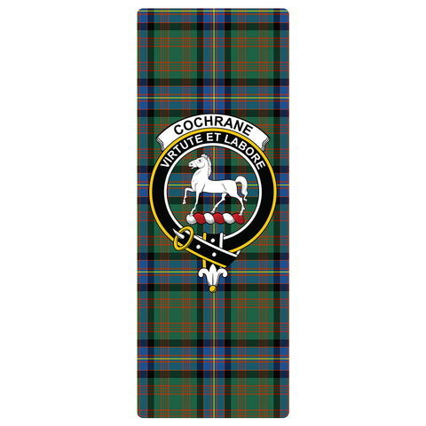 Image of Cochrane Ancient Clan Crest Tartan Yoga mats