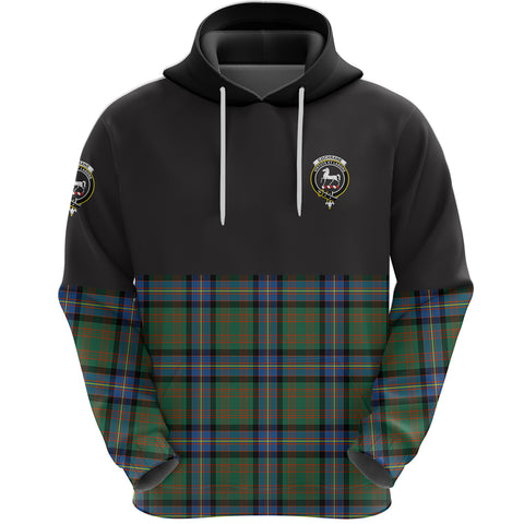 Cochrane Ancient Clan Hoodie Half Of Tartan
