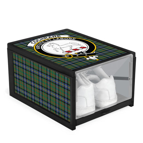 Cochrane Ancient Clan Crest Tartan Scottish Shoe Organizers K9